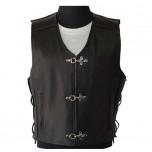Leather vest MLV-05