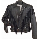 Leather motorcycle jacket MLJM-10 Chopper