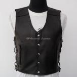 Leather vest MLV-01