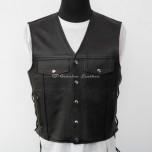 Leather vest MLV-02